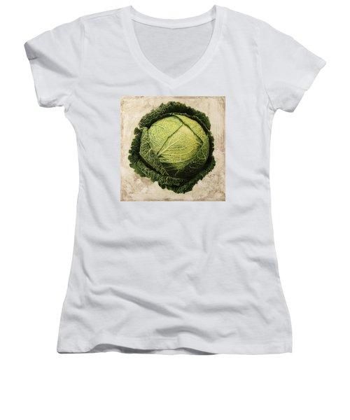 Checcavolo Women's V-Neck T-Shirt (Junior Cut) by Danka Weitzen
