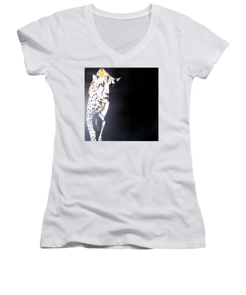 Cheetah Women's V-Neck