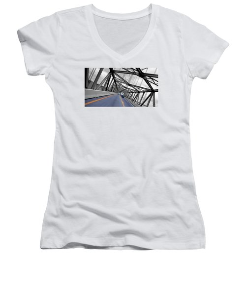 Chesapeake Bay Bridge Women's V-Neck
