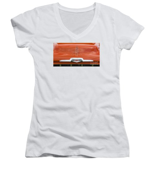 Chevrolet 30-1956 Hydramatic 3100 Women's V-Neck (Athletic Fit)