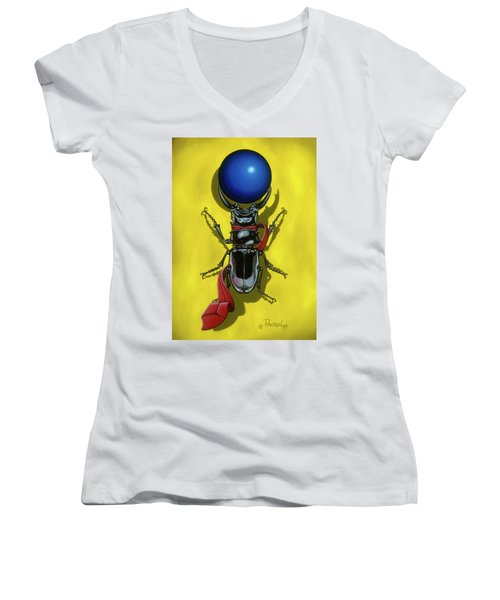 Childhood Pinch Women's V-Neck