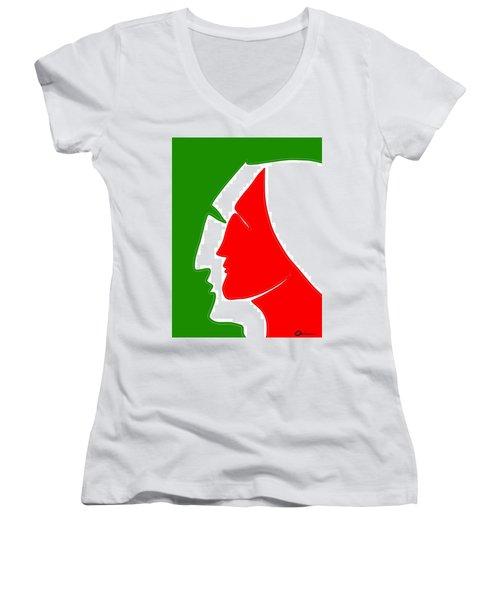 Christmas Together 2 Women's V-Neck T-Shirt