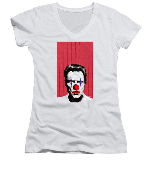 Christopher Walken 2 Women's V-Neck T-Shirt