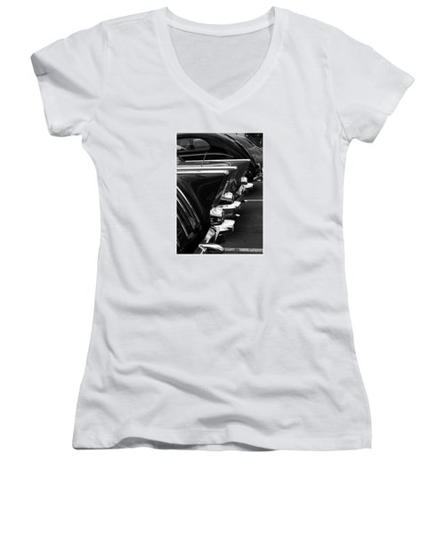 Chrome Women's V-Neck T-Shirt
