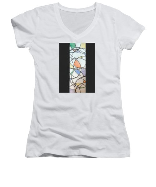 Church Glass Women's V-Neck