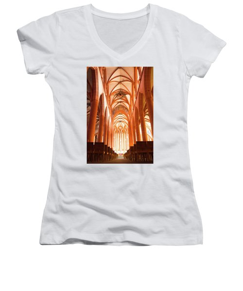 Church Of The Holy Spirit Women's V-Neck (Athletic Fit)