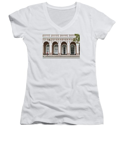 Cienfuegos Arches Women's V-Neck T-Shirt