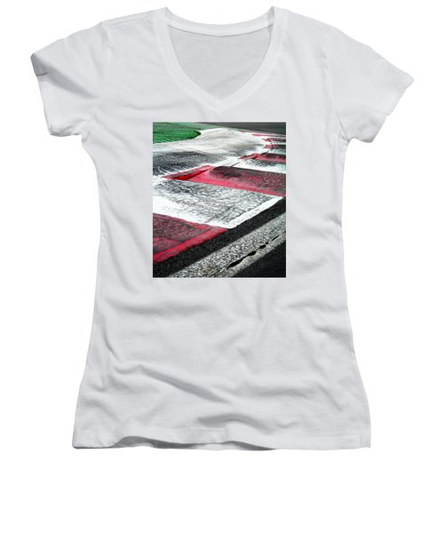 Circuit De Montreal ... Women's V-Neck