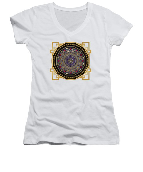 Circularium No 2652 Women's V-Neck