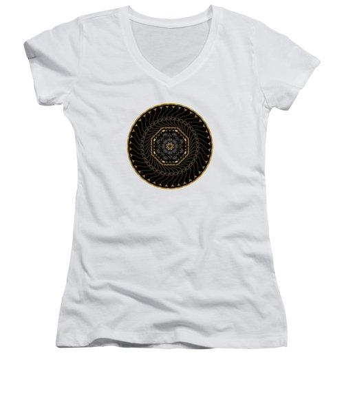 Circularium No 2713 Women's V-Neck T-Shirt