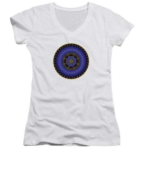Circularium No 2714 Women's V-Neck T-Shirt