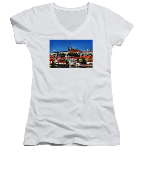 City On The River IIi Women's V-Neck (Athletic Fit)