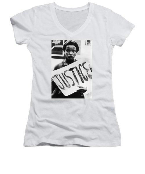 Civil Rights, 1961 Women's V-Neck