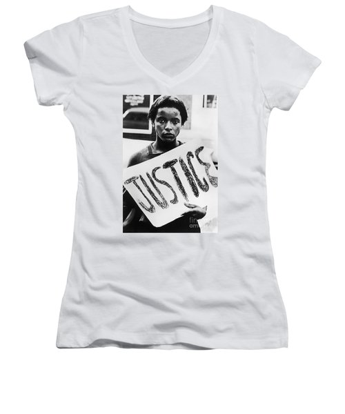 Civil Rights, 1961 Women's V-Neck