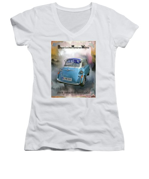 Classic Bmw 600 Women's V-Neck (Athletic Fit)