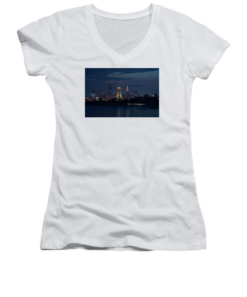 Cleveland Reflections Women's V-Neck