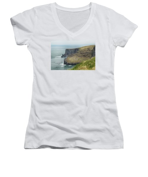 Cliffs Of Moher 1 Women's V-Neck