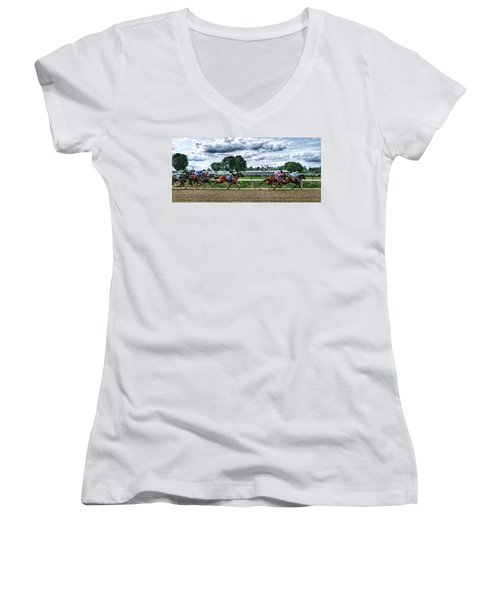 Close Competition Women's V-Neck (Athletic Fit)