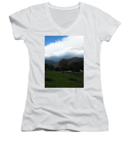 Cloudy Hills Women's V-Neck (Athletic Fit)