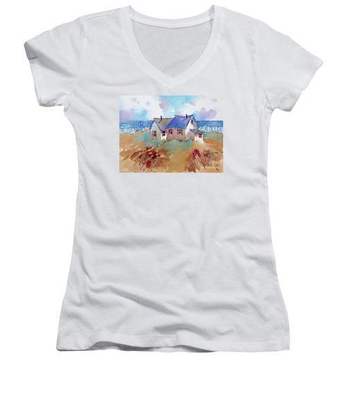 Coastal Charm Women's V-Neck T-Shirt