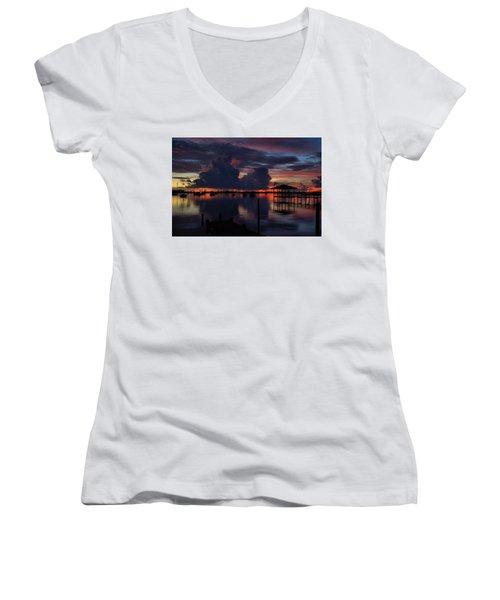 Cocoa Bay Women's V-Neck T-Shirt