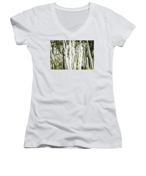 Colorado Aspens Women's V-Neck T-Shirt