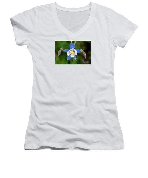 Colorado Blue Women's V-Neck T-Shirt