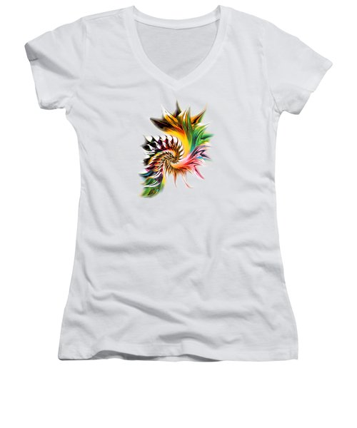 Colors Of Passion Women's V-Neck