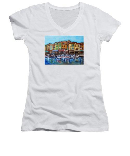 Colours Of Cassis Women's V-Neck T-Shirt