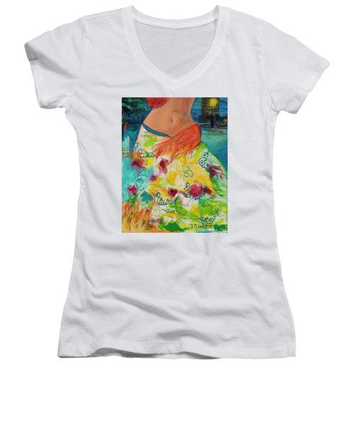 Combustible Women's V-Neck