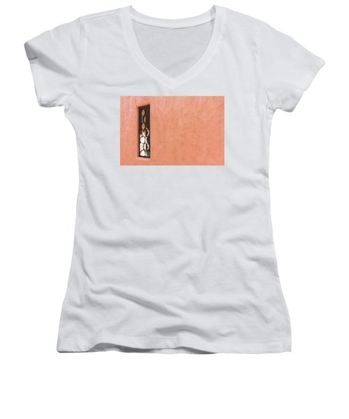 Come To My Window Women's V-Neck (Athletic Fit)