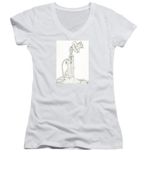 Communication Women's V-Neck T-Shirt