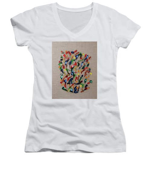 Confetti Women's V-Neck