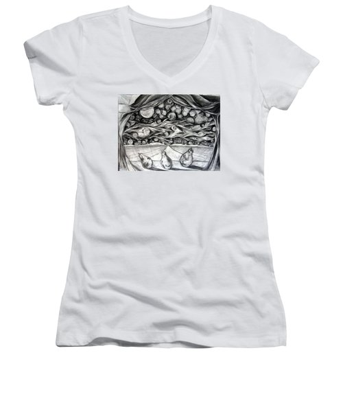 Consequence Beyond The Horizon - Study Women's V-Neck (Athletic Fit)