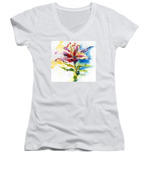 Consider The Lily Women's V-Neck (Athletic Fit)