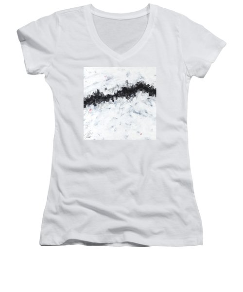 Contemporary Landscape 2of2 Women's V-Neck (Athletic Fit)