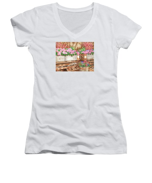 Cordelia's Train Women's V-Neck