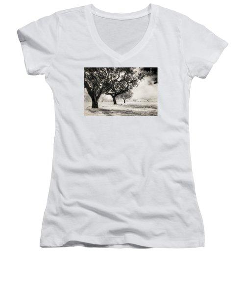 Cork Trees Women's V-Neck T-Shirt