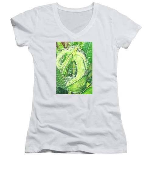 Corn Silk Women's V-Neck