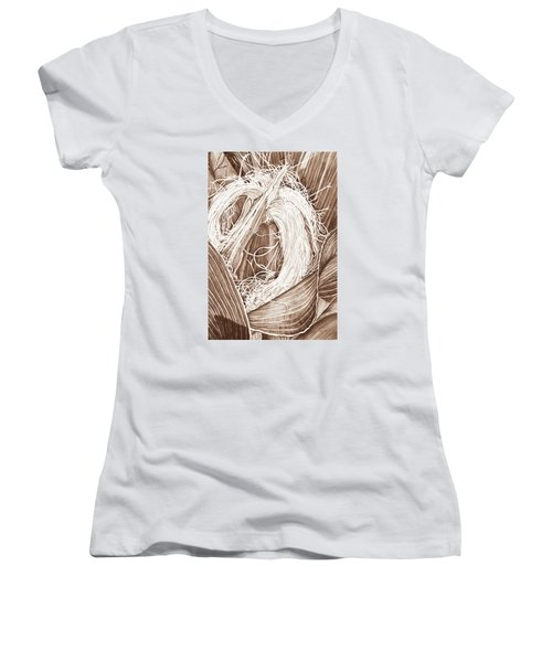 Corn Silk - Neutral Women's V-Neck