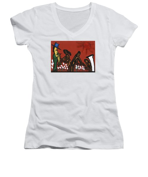 Cotton Pickers Women's V-Neck T-Shirt