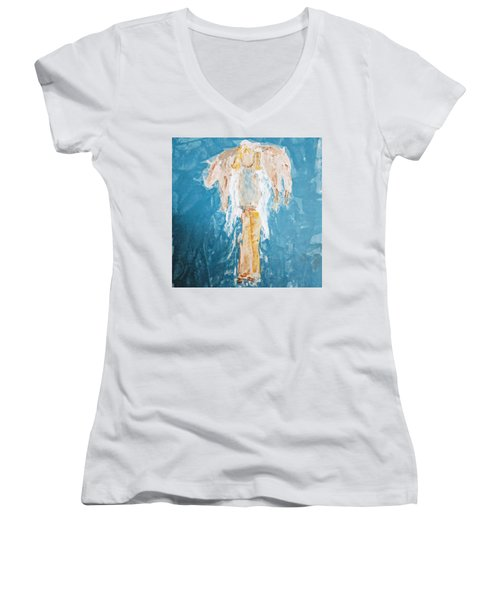 Country Angel Women's V-Neck