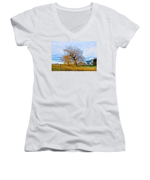 Country Life Artististic Rendering Women's V-Neck