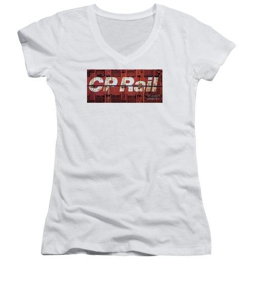 Cp Rail Women's V-Neck (Athletic Fit)