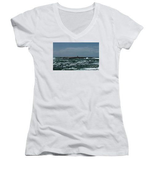 Crab Island Women's V-Neck