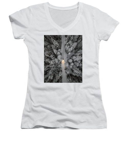 Create Your Own Path  Women's V-Neck