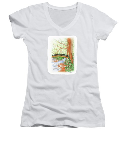 Creek Crossing Women's V-Neck