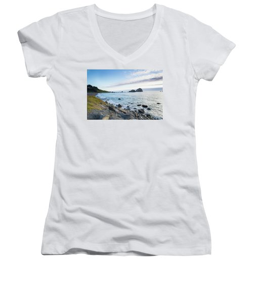 Crescent City Sunset Women's V-Neck