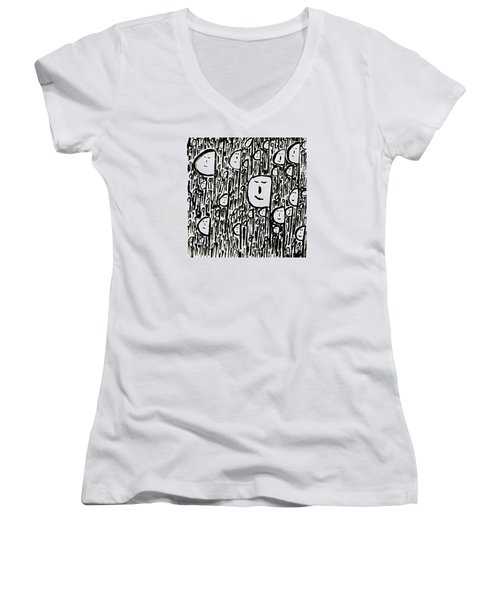 Crowd Women's V-Neck