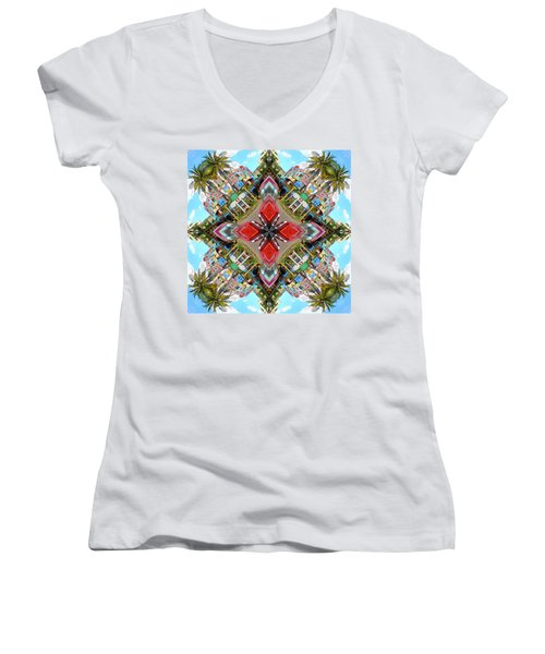 Cuban Kaleidoscope Women's V-Neck